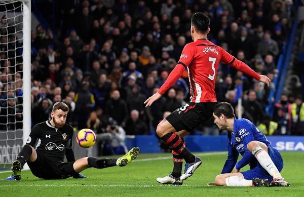 Chelsea 0-0 Southampton Yoshida was outstanding