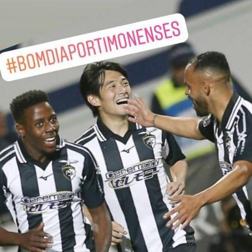 Own Goal by Jardel Portimonense 2 Benfica 0 nakajima