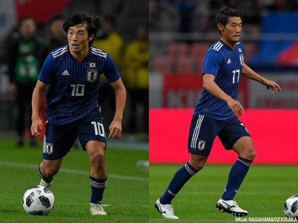 Shoya Nakajima and Hidemasa Morita are out for injury