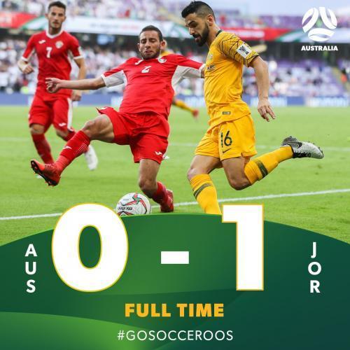 Australia 0 - 1 Jordan AsianCup2019