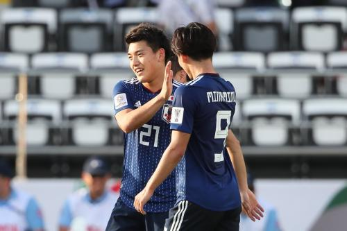 Ritsu Doan goal in victory over Turkmenistan