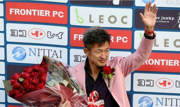 51-year-old footballer Miura Kazu signs new Yokohama deal
