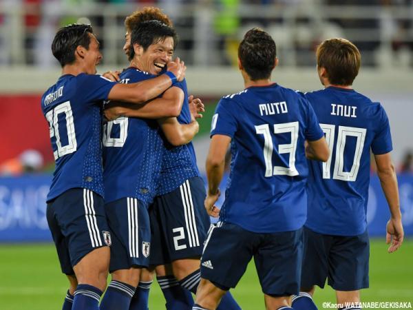 Japan 2 - 1 Uzbekistan AFC Asian Cup 2019 Shiotani Muto goals