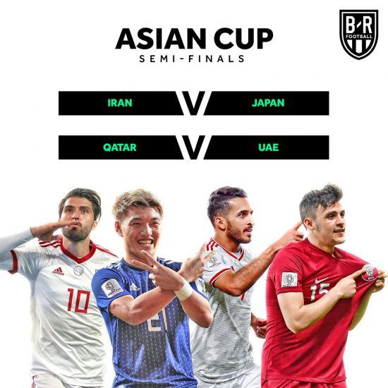 The 2019 Asian Cup semis are set