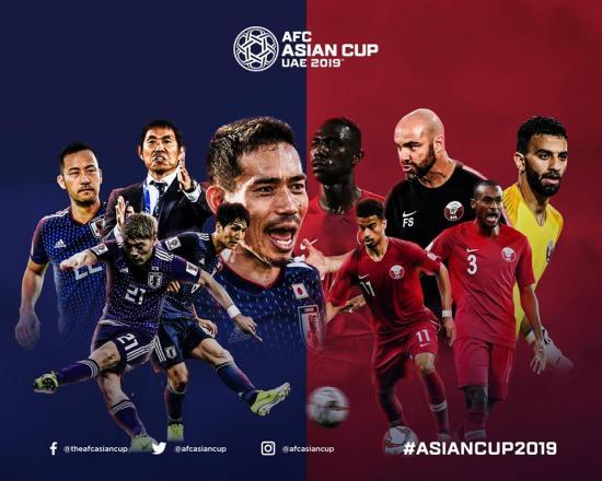 Japan Qatar AsianCup2019 final