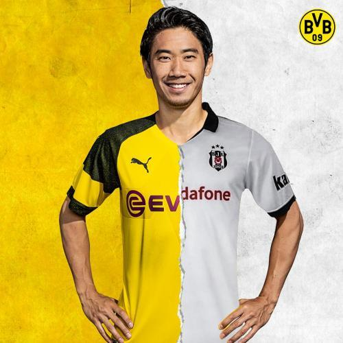 Official Shinji Kagawa to Besiktas on loan