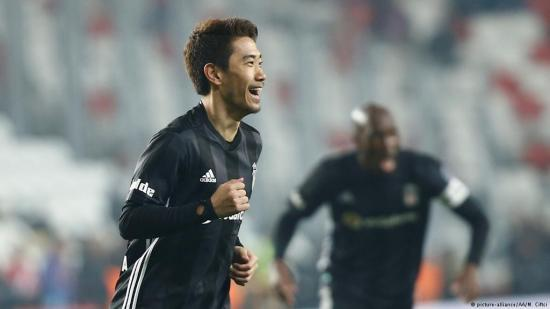 Shinji Kagawa 2 goals debut for Beşiktaş