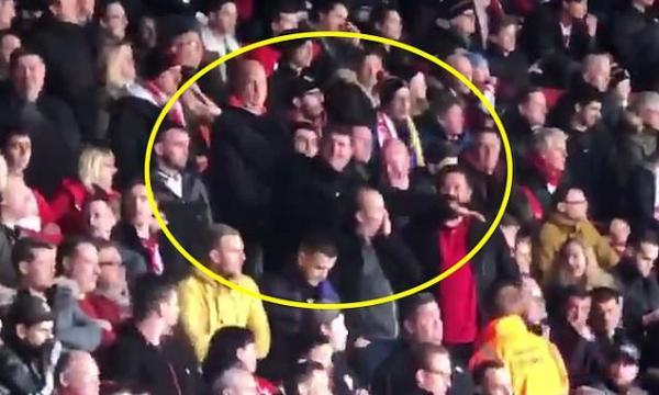 Two Southampton fans arrested after making plane gestures to Cardiff supporters following death of Emiliano Sala