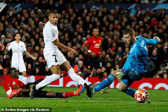 Manchester United 0-2 Paris Saint-Germain Champions League Round of 16