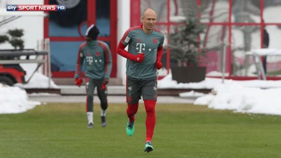 robben on his injury the problem