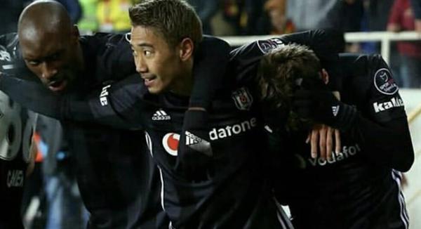 Yeni Malatyaspor 1-2 Besiktas Kagawa