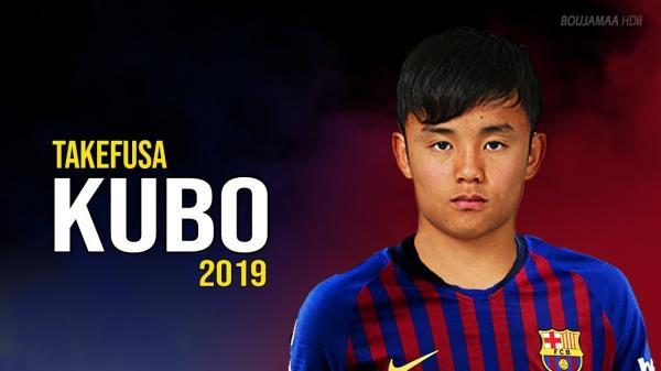 Takefusa Kubo 2019 To Barcelona Former Lamasia player Insane Skills Goals