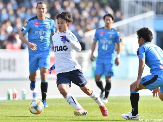 Takefusa Kubo vs Kawasaki Frontale