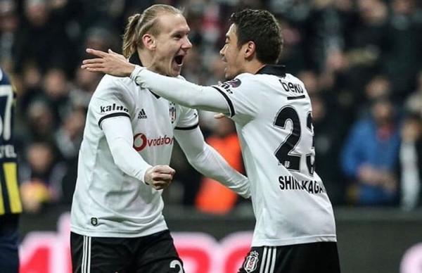 Besiktas 3-1 Fenerbahce kagawa assists