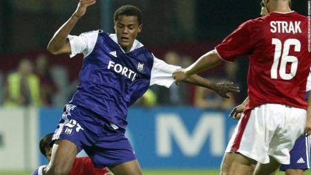 Kompany made his Anderlecht debut in 2003