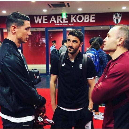 Iniesta Torres Villa Reunited