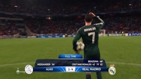 With Ronaldo Madrid win 4_1