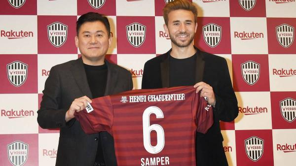 Sergi Samper leaves Barça to join Iniesta at Vissel Kobe