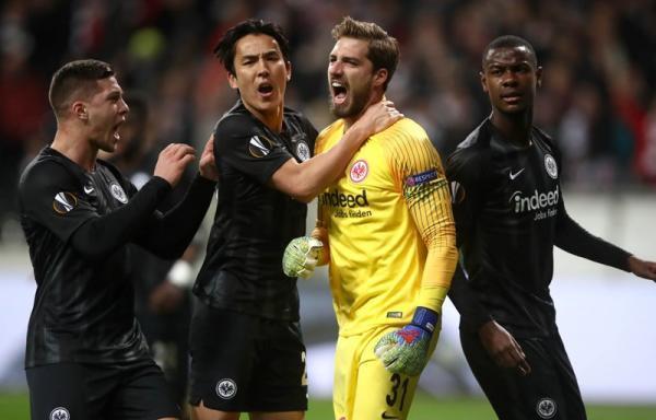 Eintracht Frankfurt 0-0 Internazionale Europa League Round of 16 hasebe