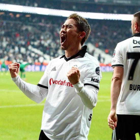 Besiktas 3-2 Konyaspor Shinji Kagawa goal
