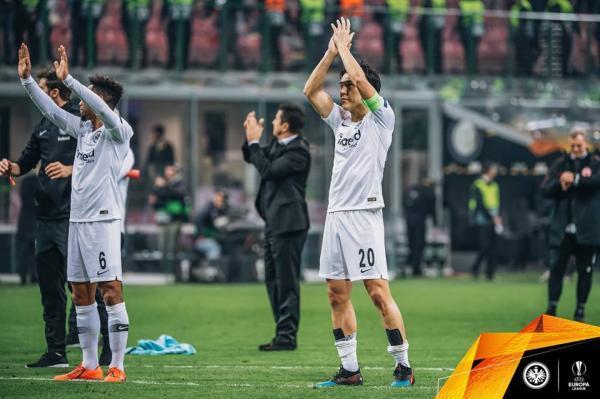 Inter 0-1 Frankfurt hasebe makoto captain el