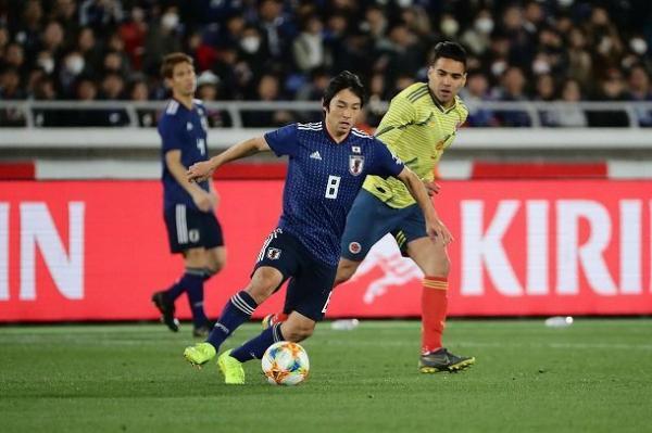 Japan 0-1 Colombia nakajima