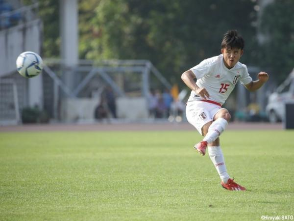 U22 Japan 6-0 agaisnt East Timor Takefusa Kubo 2 goals