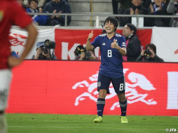 Japan 1-0 Bolivia - Shoya Nakajima goal
