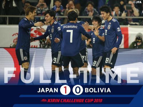 Japan 1-0 Bolivia 2019