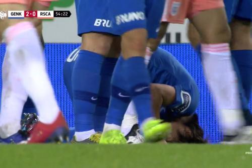 Ito japanner valt wel meteen geblesseerd vs Anderlecht