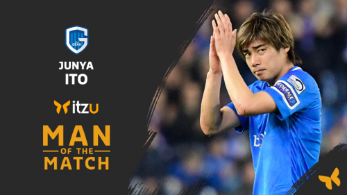 Junya Ito is Man of the Match Genk against Anderlecht PO1 2019