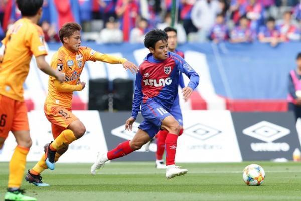 Takefusa Kubo shine for FC Tokyo this time against Shimuzu