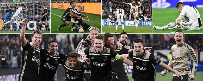 Juventus 1-2 Ajax Champions League - Quarter Final Second Leg