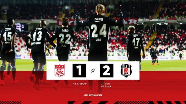 Sivasspor 1-2 Besiktas