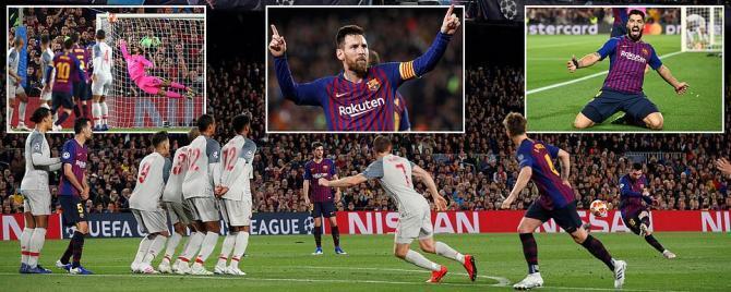 Barcelona 3-0 Liverpool [Champions League - Semi Final - First Leg]