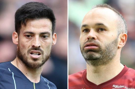 David Silva wanted by Vissel Kobe to join Spanish team-mate Andres Iniesta at Japanese club
