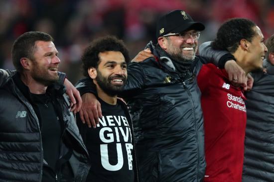 Liverpool 4-0 Barcelona (4-3 Agg)