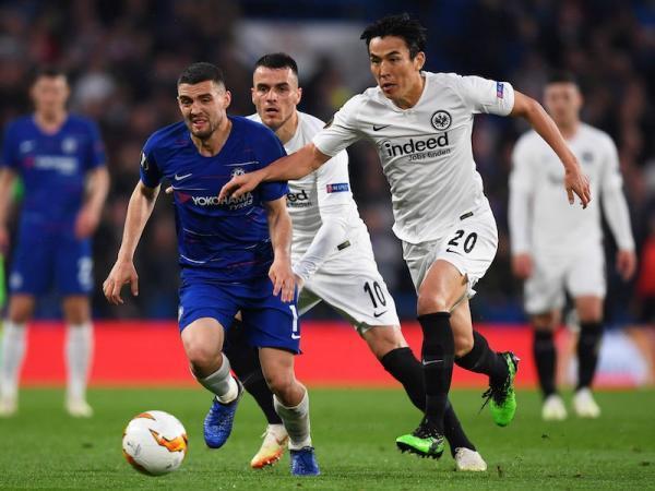 Chelsea 1-1 Eintracht Frankfurt (4-3 Penalties) Europa League Hasebe preassists
