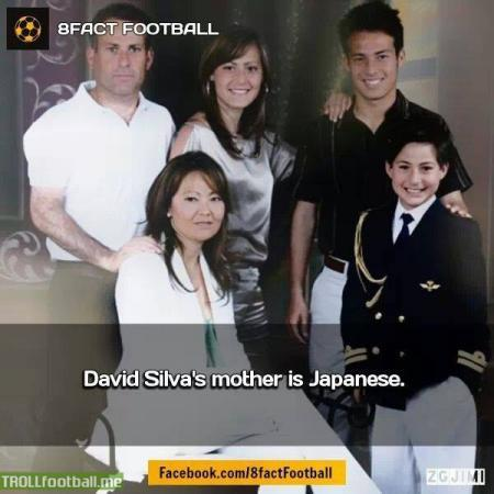 David Silva with his family