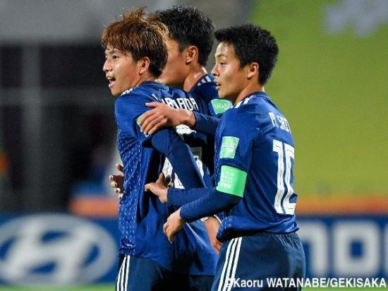 Japan U20 [1]-1 Ecuador U20 - Kota Yamada