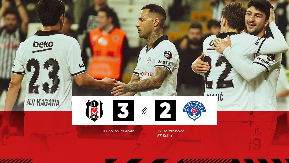 Beşiktaş 3-2 Kasımpaşa