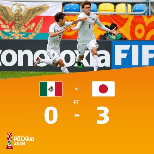 mexico u20 0_3 japan u20 world cup