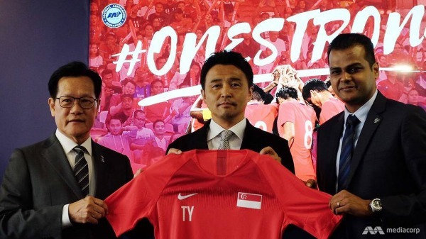 Tatsuma Yoshida is the new Singapore National Team Head Coach