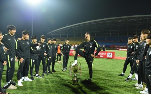 South Korea U18s stripped of trophy for indecent celebration