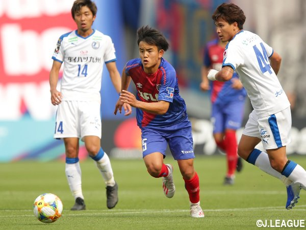 Kubo Takefusa 2 goals against Oita Trinita