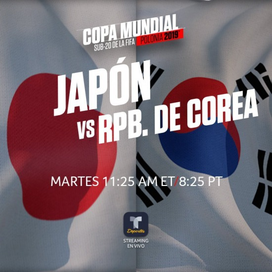 Japan U20 vs South Korea U20 2019 U20-World Cup