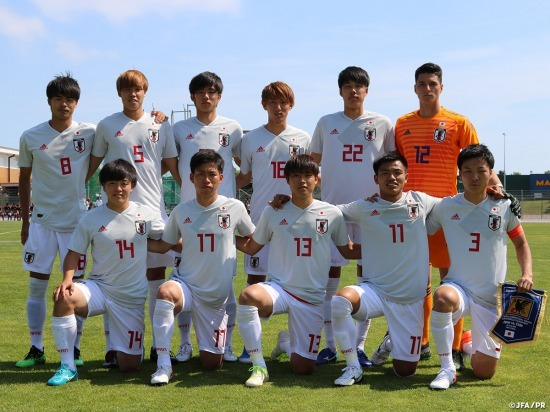 Japan u-22 beats Chile u-22 6-1 in the Toulon Tournament