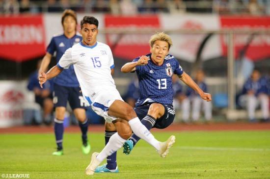 Japón 2-0 El Salvador nagai goals