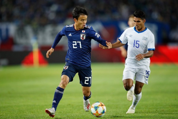 18-year-olds Takefusa Kubo makes his senior Japan NT debut