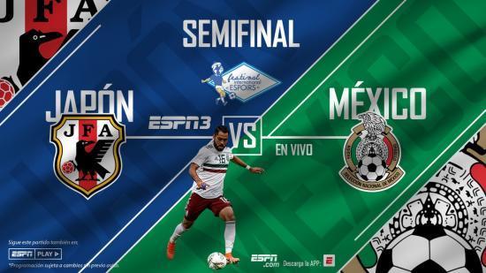 semifinal de Toulon Mexico Vs Japan